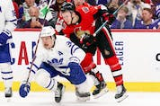Neither Toronto's Auston Matthews (injury rehab) nor Ottawa's Brady Tkachuk (unsigned free agent) will be in the lineup for Thursday's game at Canadian Tire Centre.
