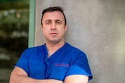 Dr. Hassan Masri is an ICU doctor in Saskatoon who has been fighting COVID-19 and misinformation about it.