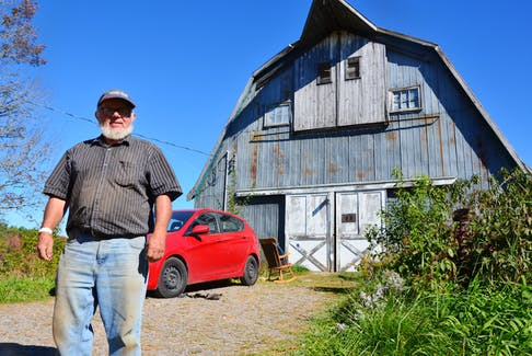 Don Baker has been living in his car beside his barn in Grafton, hoping to reach a compromise with the County of Kings that would allow him to build a small house. KIRK STARRATT