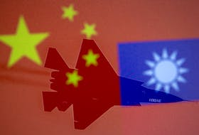 """Tensions between China and Taiwan continue to simmer, with China's leadership promising that """"The historical task of the complete reunification of the motherland ... will definitely be fulfilled.""""  Contributed"""