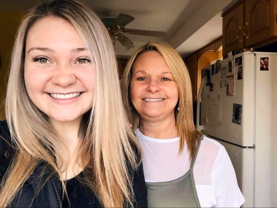 The author and her mom, Cayla (Gouthro) Toomey. — Contributed photo