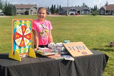 Nine-year-old Lyra Coady decided to use her old toys as prizes in a carnival she held this summer in Happy Valley-Goose Bay, with all the money raised going to charity.