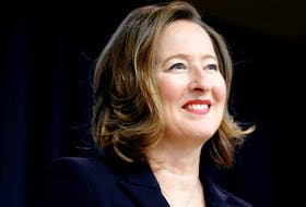 Former Bank of Canada senior deputy governor Carolyn Wilkins in Ottawa on Nov. 12, 2020.