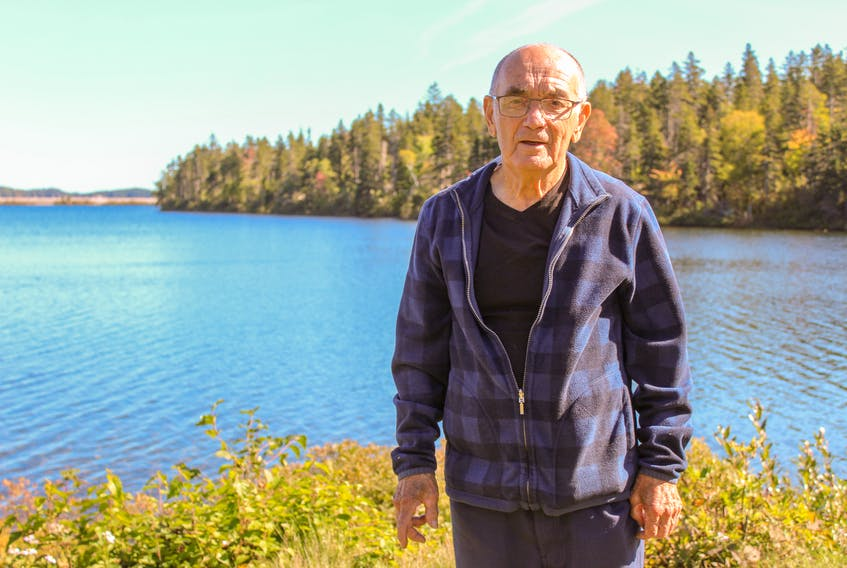 Ingonish resident Bert Doucette has been cleaning litter and trash off Ingonish's streets for more than 40 years. JESSICA SMITH • CAPE BRETON POST