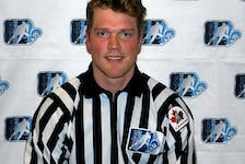 Former Cape Breton Eagle defenceman Jonathan Deschamps has been hired by the NHL as a full-time linesman for the 2021-22 season. CONTRIBUTED
