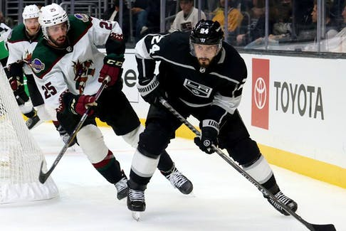 Former Canadien Phillip Danault signed a six-year, US$33-million contract with Los Angeles this off-season. He made his Kings debut Thursday night, scoring a goal in a 6-2 win over the Golden Knights.