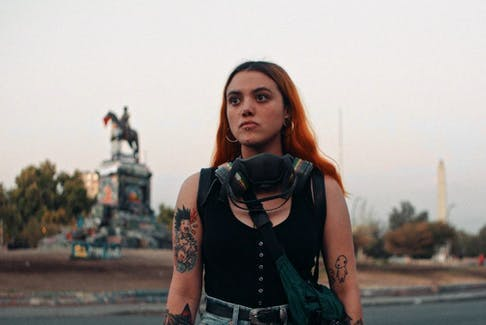 Rayen, 23, is fighting for social justice in her native Chile.