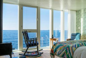 A guest room at the Fogo Island Inn. — Contributed photo