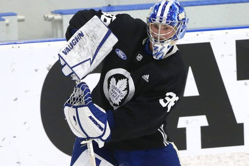 Jack Campbell will likely get a lot of starts for the Maple Leafs.