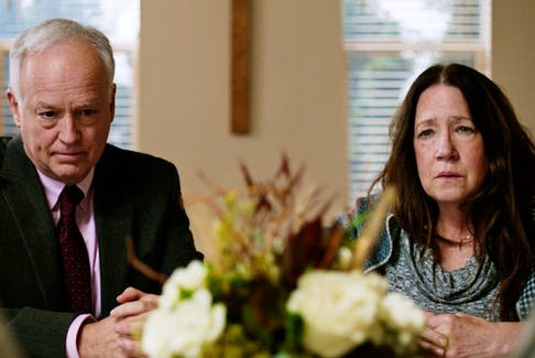 Reed Birney and Ann Dowd are one set of parents in Mass.