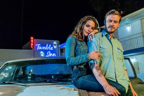 Sophia Bush and Michael Dorman are old friends in Hard Luck Love Song.
