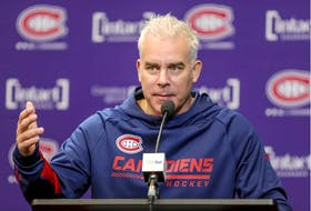 """""""I think we have three lines that can be bringing offence and I don't have a top line,"""" Canadiens head coach Dominique Ducharme says. """"I have 12 forwards and three lines that I see that can be offensive and you end up with (Tyler) Toffoli and (Brendan) Gallagher (together) that can both be 30-goal scorers on one line."""""""