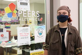 Elias Doherty-Kirby was a member of the PEERS Alliance Queer Youth Collective from grades 10-12.