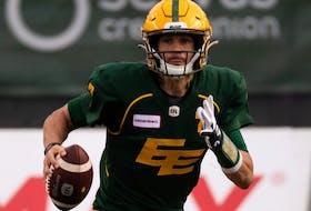 Edmonton Elks quarterback Trevor Harris has been traded to the Montreal Aloeuttes for defensive end Antonio Simmons.