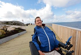 Kevin Penny says when family came to visit Peggy's Cove, he would have to stay in the vehicle in the parking lot. Or navigate a narrow path to see the famed lighthouse. The accessible platform at Peggy's Cove is officially open. Many early concerns about the project at the start of the proposal have been assuaged. The reception from many, including accessibility advocates in attendance, has been overwhelmingly positive in its balance with its function and respect for the rocky environment.
