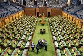 Parliament won't resume until 63 days after the Sept. 20 federal election.