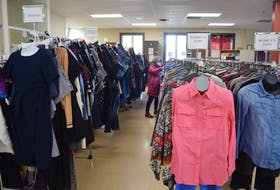 New to You is a social enterprise in Truro where people love to thrift for clothing and a wide variety of items. It is one of several second-hand stores in the area.