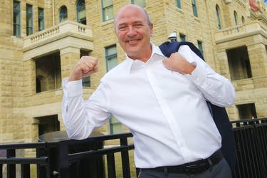 Ward 14 candidate Peter Demong is photographed in Ward 14.