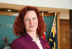 Alison Coffin announced Tuesday, Oct. 19, she has stepped down as leader of the New Democratic Party in Newfoundland and Labrador.