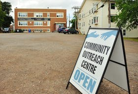 A P.E.I. man must stay away from the Community Outreach Centre on Euston Street in Charlottetown after he caused a disturbance at the centre in its former location on Weymouth Street.