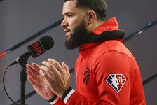 What does a post-Kyle Lowry Raptors team look like for the upcoming season? His production should be replaceable with some combination of Fred VanVleet (pictured), Goran Dragic and Malachi Flynn.Jack Boland/Toronto Sun