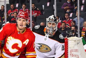 Matthew Tkachuk and the Calgary Flames will look to make life a little more difficult on goalies from here on in.