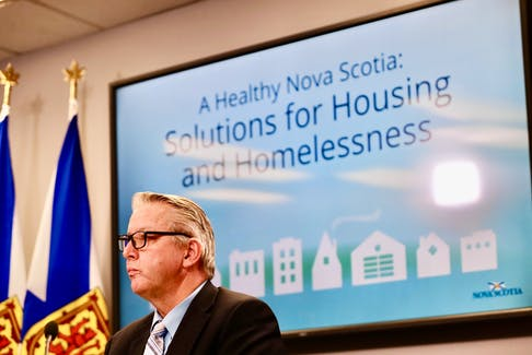 Premier Tim Houston and Municipal Affairs and Housing Minister John Lohr will make an announcement about housing today