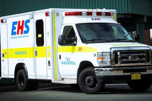 A Nova Scotia Emergency Health Services ambulance.  CONTRIBUTED/EHS