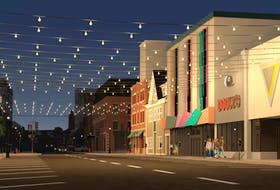 Discover Charlottetown has proposed hanging lights across Kent Street as one of its ideas for the streetscapes in the downtown core.
