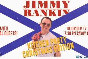Singer/songwriter Jimmy Rankin will be doing a Christmas show at the Savoy in Glace Bay on Dec. 17 at 7:30 p.m. Contributed