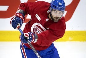New Canadiens forward Mathieu Perreault and his wife have three children — 5-year-old Violette and 4-year-old twins Hector and Penelope.