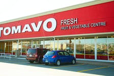 The Tomavo fruit and vegetable centre in Bayers Lake is seen in this photo taken on Thursday, Oct. 21, 2021.