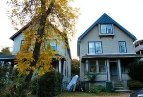 FOR FAIRCLOUGH STORY: Some Dal students have won a small claims court case, and call for stronger tenancy laws....SEE IAN'S STORY FOR DETAILS....1172 Waterloo Street, RIGHT, in Halifax Thursday October 21, 2021.