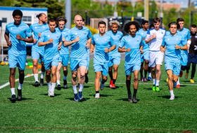 The HFX Wanderers hold a slim one-point lead over York United for the fourth and final playoff spot in the Canadian Premier League table. They only have four matches remaining in their regular-season schedule. - HFX WANDERERS