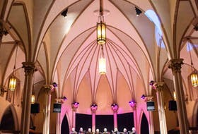 The Cape Breton Chorale performed at Sacred Heart Downtown in Sydney, earlier this month. Contributed • MCpl Trevor Matheson, 5th Canadian Division Public Affairs