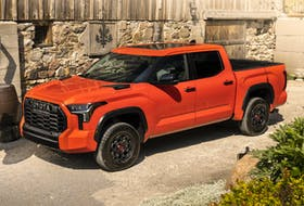 The 2022 Toyota Tundra TRD Pro just might have the power to convert devotees of the Big Three trucks.  Handout/Toyota Canada