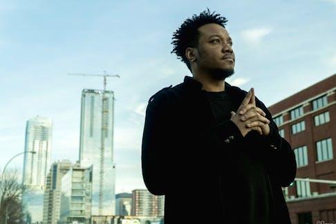 Calgary-based hip-hop artist K-Riz. Photo by Dennis Hong.
