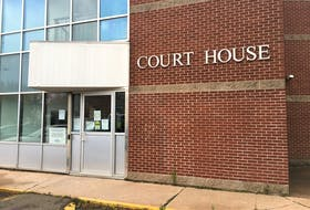 The  courthouse in Shubenacadie where, this morning, Dylan MacDonald was charged as an accessory after the fact in the murder of Prabhjot Singh Khatri.
