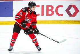 Antigonish's Tyler Peddle has six goals and two assists in six games so far in his rookie QMJHL season with the Drummondville Voltigeurs. - QMJHL