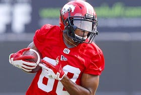 Stampeders receiver Kamar Jorden has had to learn to live with hamstring issues over the course of his career.