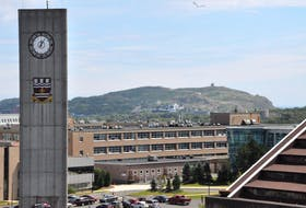 Memorial University of Newfoundland and Labrador's St. John's Campus.
