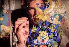 Benedict Cumberbatch plays artist Louis Wain.