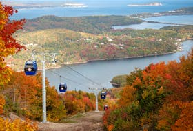Atlantic Canada's first gondola lift opened in August at the Destination Cape Smokey resort in Ingonish. The facility is adding a new snowmaking system this winter which in turn has prompted the nearby Keltic Lodge to partially open this coming winter. CONTRIBUTED