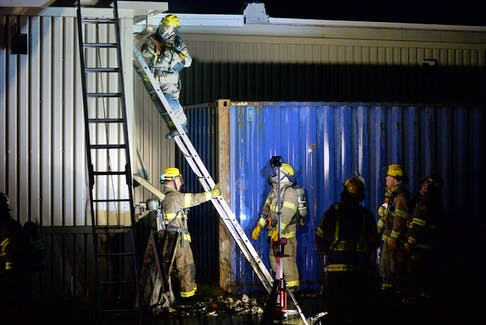 Police are investigating the cause of Friday's fire at Evergreen Recycling on Blackmarsh Road in St. John's.