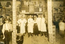 Morley's Store. An early photo of the inside of Morley's Store in Sydney, circa 1900. Contributed • 77-598-732, Beaton Institute, CBU