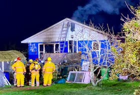 Firefighters responded to a fire on the Cleveland Road close to 4 a.m. on Oct. 23. CARLA ALLEN • TRI-COUNTY VANGUARD