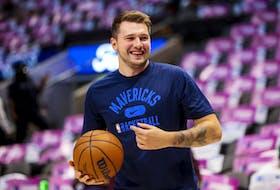 Dallas Mavericks superstar Luka Doncic is in Toronto Saturday.