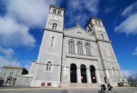 The Roman Catholic Basilica of St. John The Baptist on Military Road in St. John's. -Photo by Joe Gibbons/The Telegram