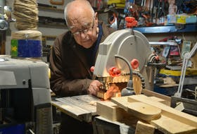 Most days, you can find Graham Mercer shaping wood into something greater inside his workshop in Bay Roberts.