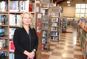 Lisa Mulak, chief librarian at the James McConnell Memorial Library, said she is optimistic a new library will be built, as the current facility has reached the end of its life span. — IAN NATHANSON • CAPE BRETON POST